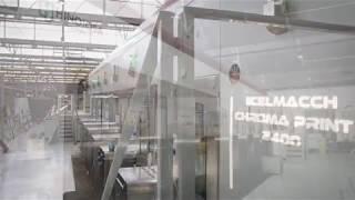 La impresora de 6 colores Chroma High Tech 2400 de Celmacch ya está en funcionamiento en Hinojosa Xàtiva