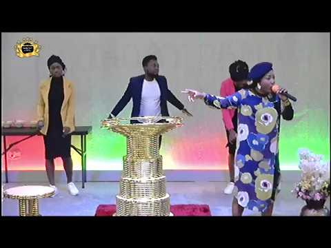 Mercy Chinwo @ Rccg Champions Cathedral During BTE Oct Edition 2019