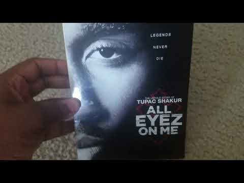 All Eyez On Me dvd unboxing