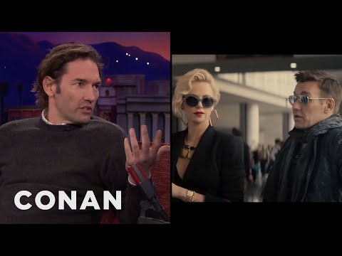 Nash Edgerton Directed His Brother & Charlize Theron In A Sex Scene  - CONAN on TBS (видео)