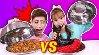 Video Hit or Miss : Real Food VS Imitated Jelly with Kang I - Jini MP3, 3GP, MP4, WEBM, AVI, FLV Agustus 2018