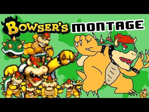 Bowser Montage - SSB4 Wii U