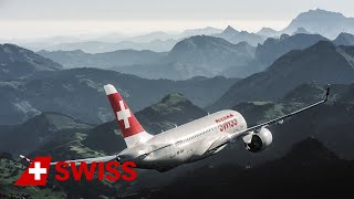 ✈️️ SWISS, launching carrier of the Bombardier CS100 aircraft, celebrates the entry-into-service with a beautiful air-to-air film shooting. Watch the brand-new SWISS Bombardier CS100 flying above Central Switzerland with its magnificent landscapes.Want to see more of our SWISS Bombardier CS100? Watch it glide trough the sky: https://www.youtube.com/watch?v=xFd92VNGGwU&t=9sCheck it out in 360°: https://www.youtube.com/watch?v=d82GY6Zq4GI&t=33sOr get all the facts: https://www.swiss.com/cseries_Subscribe for exclusive video updates: https://www.youtube.com/subscription_center?add_user=swissintlairlinesFollow us on Social Media:Facebook: https://www.facebook.com/flyswissTwitter: https://www.twitter.com/flyswissInstagram: https://www.instagram.com/flyswiss/Snapchat: https://www.snapchat.com/add/flyswissLinkedIn: https://www.linkedin.com/company/swiss-international-air-linesSWISS.com: https://www.swiss.comWorld of SWISS: https://www.swiss.com/worldofswiss/en/story/c-series-above-lucerne Sign up for our Newsletter: https://www.swiss.com/newsletter