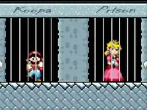 Peach does the sweet escape