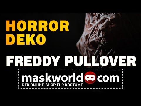 Freddy Krüger Pullover - animiertes Halloween Kostüm