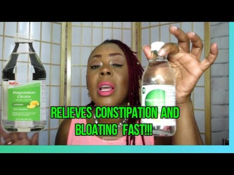 Weight Loss Ideas: Magnesium Citrate: Relieves Constipation & Bloating Immediately