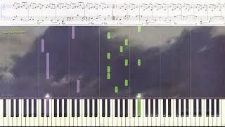 Tones - Marc Durif (Ноты и Видеоурок для фортепиано) (piano cover)