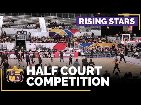 Video: NBA All-Stars 2018: Rising Stars Half Court Competition