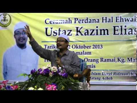 [KADIR PERAK] Ceramah Perdana Ustaz Kazim [Part 1]
