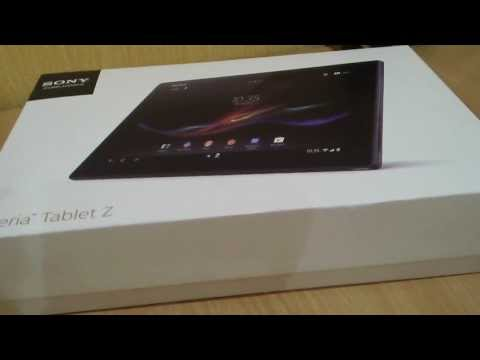 Обзор Sony Xperia Tablet Z 16Gb (SGP311)