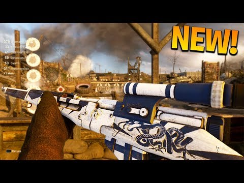 EPIC TYPE 38 is a HITMARKER MACHINE..🙃 (NEW DLC WEAPON) BEST EPIC TYPE 38 CLASS GAMEPLAY ON COD WW2