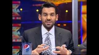 تواصل حسين الجسمي مع الجمهور- الحلقة الثانية - The XTRA Factor 2013