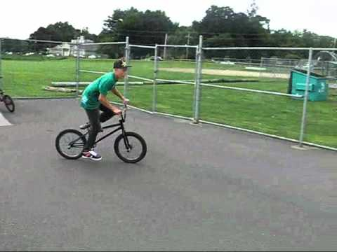First BMX edit at Cheshire skatepark