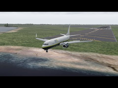 Miami Air B737 Skids Off Runway And Crash Into River, Jacksonville NAVAL Air Station [XP11]