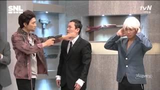 Download Lagu SNL코리아5 - 보스를 지켜라 by 유세윤,김민교 (2014.09.13) Mp3