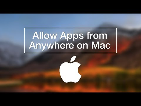 MacOS High Sierra | How to Allow Apps from Anywhere
