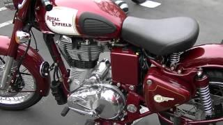 6. 2011 Royal Enfield Bullet 500 Classic California Model Motorcycle