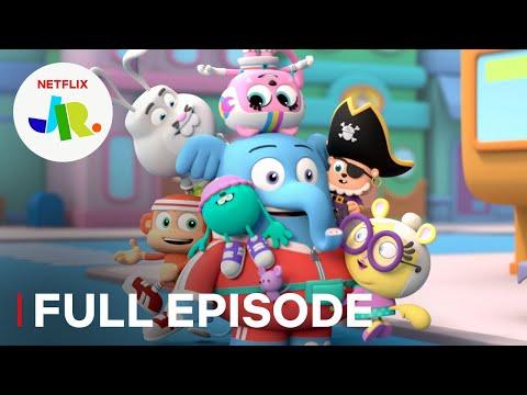 Gigantic Glue Ball   Chico Bon Bon FULL EPISODE   Netflix Jr
