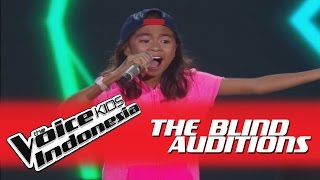 "Video Angela ""Bilang Saja"" I The Blind Auditions I The Voice Kids Indonesia GlobalTV 2016 MP3, 3GP, MP4, WEBM, AVI, FLV September 2018"