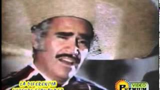 Video Vicente Fernandez - La Diferencia MP3, 3GP, MP4, WEBM, AVI, FLV Juli 2018
