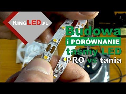Porównanie / budowa taśmy LED: profesjonalna zoomLED® vs zwykła tania - #23 Poradnik od KINGLED_pl