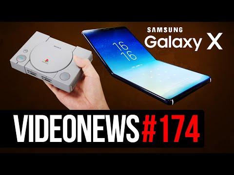 Galaxy X i S10 Edge, Procesory AMD do laptopów - VideoNews #174 (видео)