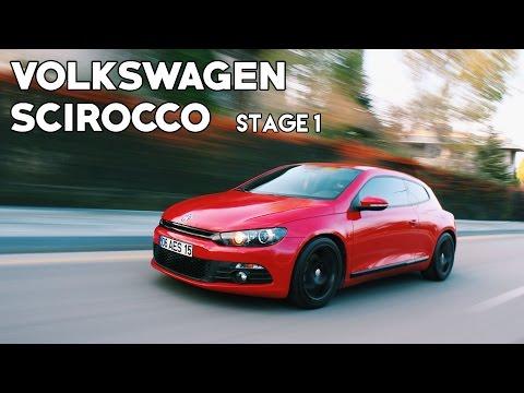 VW Scirocco 1.4TSI Stage1 (2011) | POV & 0-100km/h Test!