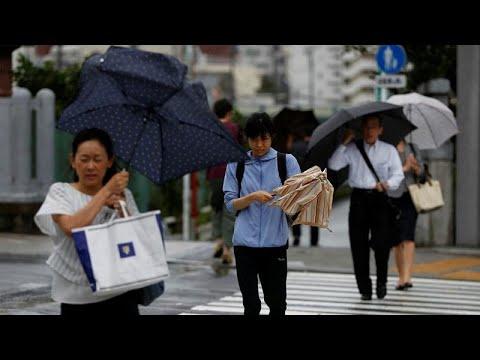 Σάρωσε το Τόκιο ο τυφώνας Φασάι