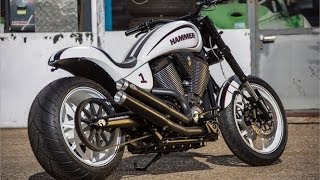 9. Motorcycle Design: Victory HAMMER S by Urs Erbacher