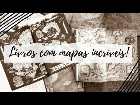 Livros que têm mapas incríveis | VEDA #24 | Um Livro e Só