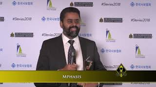 Mphasis wins a Stevie Award in The 2018 International Business Awards