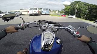 5. 2012 Suzuki Boulevard C50T test drive review