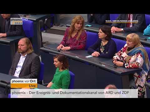Bildung der Regierung und Wahl der Bundeskanzlerin am ...