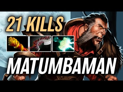 MATUMBAMAN • Lycan • 21 kills — Pro MMR