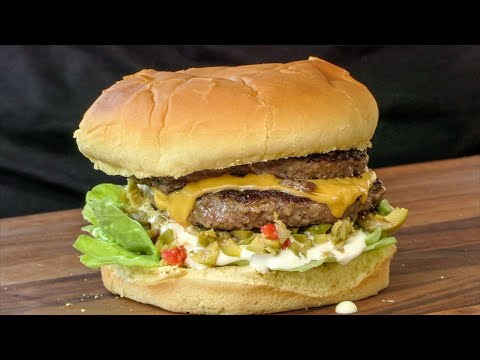 Mr. Fables Olive Burger With Cheese | Ballistic BBQ | Copycat Recipe видео
