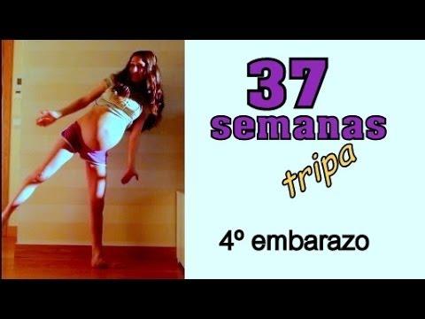 37 semanas embarazo Tripa / 37 weeks pregnant Belly