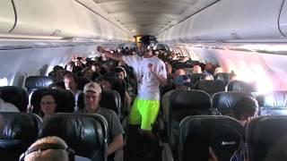 Harlem Shake Frontier Flight 157 (CC Wasabi Ultimate) - YouTube