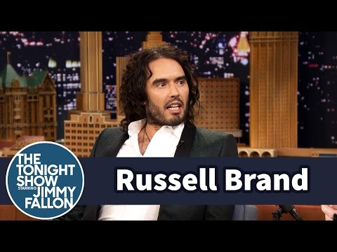 Russell Brand Confronts Jimmy About His Impressions