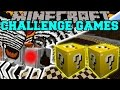 Minecraft: MOTHRA CHALLENGE GAMES - Lucky Block Mod - Modded Mini-Game
