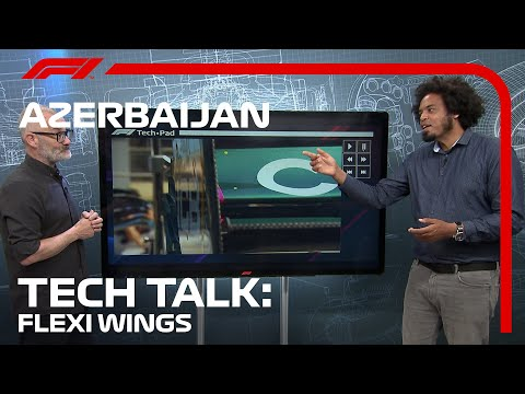 The Flexi-Wing Showdown In Baku | F1 TV Tech Talk | 2021 Azerbaijan Grand Prix