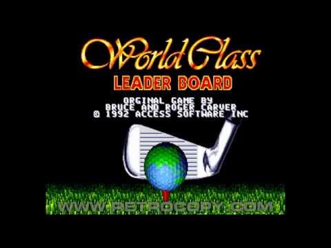 World Class Leader Board Megadrive