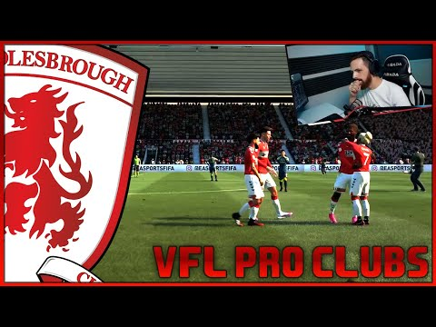 VFL MIDDLESBROUGH S45  -  FIFA 21 PRO CLUBS - MAN UTD DISPATCHED!