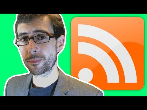 I talk about RSS readers for about thirteen minutes // Vlog