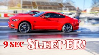 Nonton 9 SEC SLEEPER! DAILY DRIVER! '16 5.0 GT MUSTANG! HELLION TWIN TURBO! BYRON DRAGWAY! Film Subtitle Indonesia Streaming Movie Download
