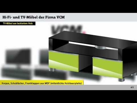 Kundenreferenz: Hi-Fi- und TV-Möbel der Firma VCM