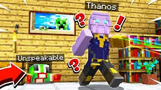 DON'T LET THANOS FIND YOU!! AVENGERS END GAME HIDE & SEEK!