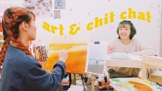 Video 🎨Making Art & Chit Chatting with my Sister. ❤️ MP3, 3GP, MP4, WEBM, AVI, FLV September 2018