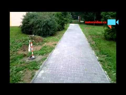 chodníky v Jihlavě