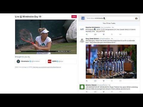 Το Twitter μεταδίδει το τουρνουά Γουίμπλεντον! – corporate