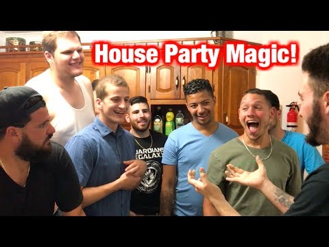 House Party Magic! | Funny Reactions  (Uncut)